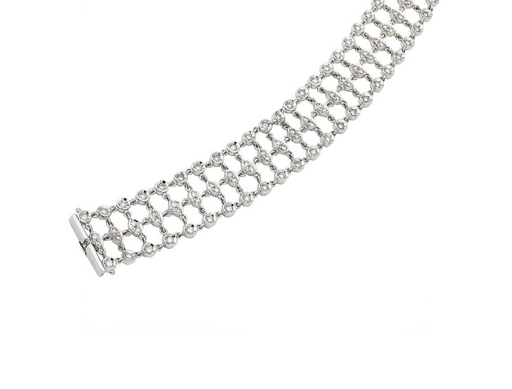 Diamond Web Bracelet